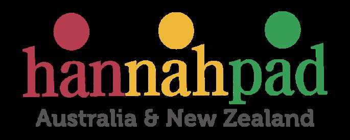 Hannahpad Australia and New Zealand Logo